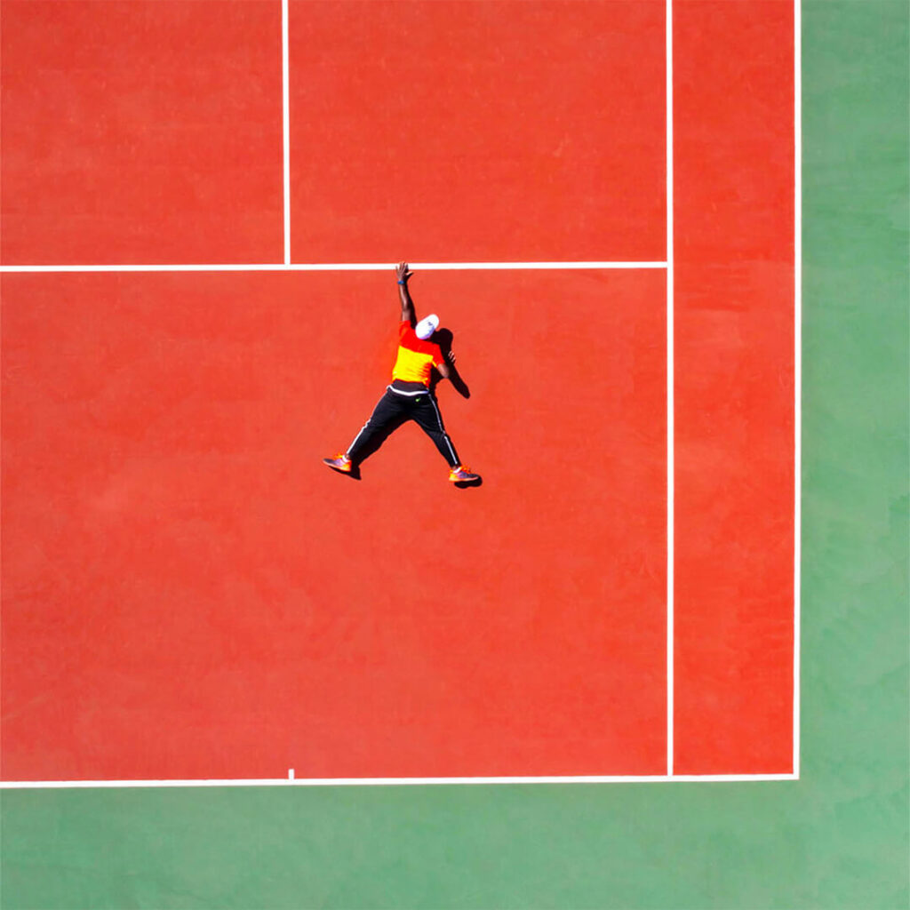 drone tennis saône et loire