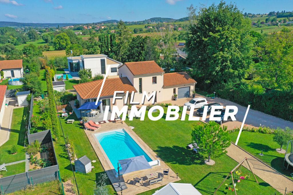film drone immobilier france mâcon